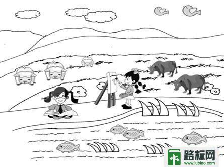 山东省泰安市小学一年级上册语文第六单元测试题目